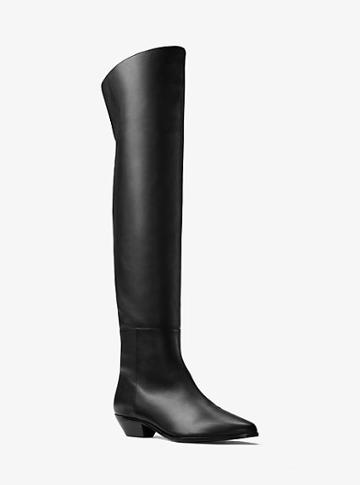 Michael Kors Collection Shelby Calf Leather Boot