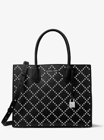 Michael Michael Kors Mercer Grommeted Leather Tote