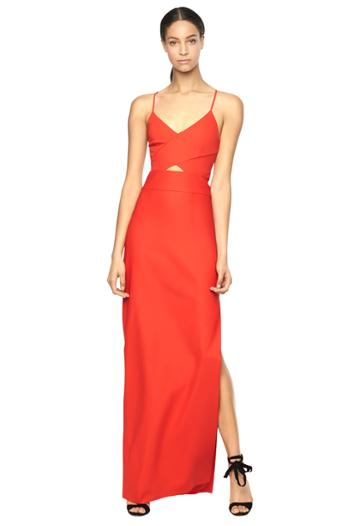 Milly Mckenna Dress - Red