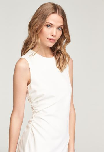 Milly Sherry Dress - White