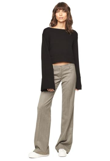 Milly Dickies Trouser - Grey