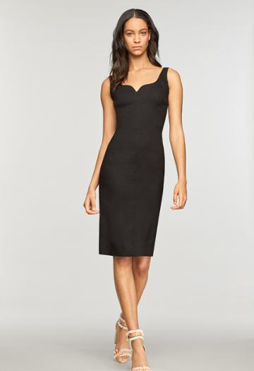 Milly Elizabeth Dress - Black