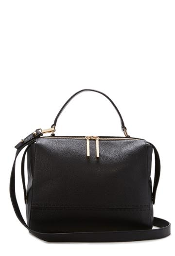 Milly Astor Large Satchel - Black