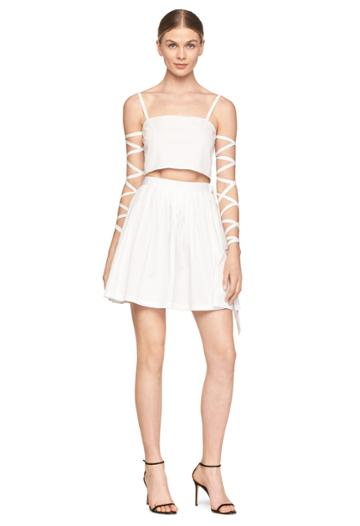 Milly Exclusive Cropped Jasmine Top