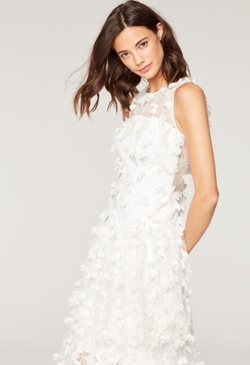 Milly Embroidered Tulle Siena Gown