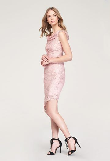 Milly Ally Cocktail Dress - Blush