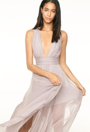 Milly Angie Dress - Silver