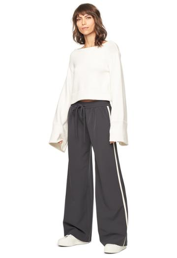 Milly Track Pant - Slate/multi