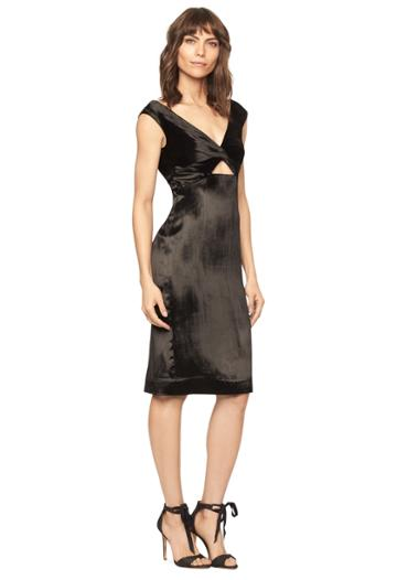 Milly Panne Velvet Mandy Dress