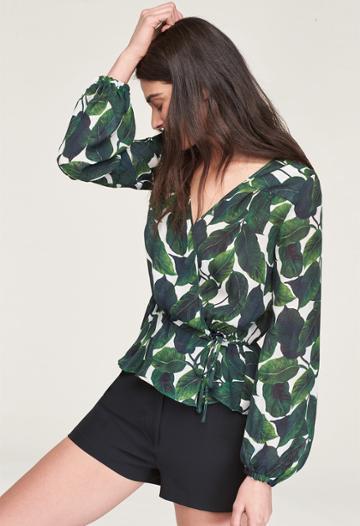 Milly Kia Top - Emerald