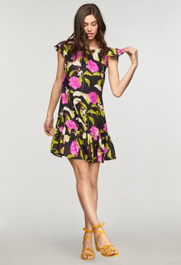 Milly Jill Dress - Multi