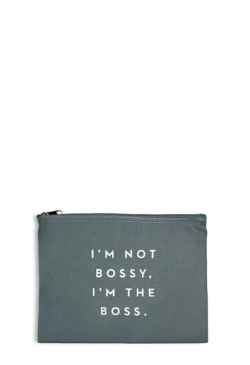 Milly Bossy Pouch - Charcoal