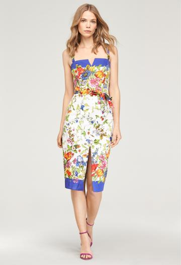 Milly Floral Print Remie Dress