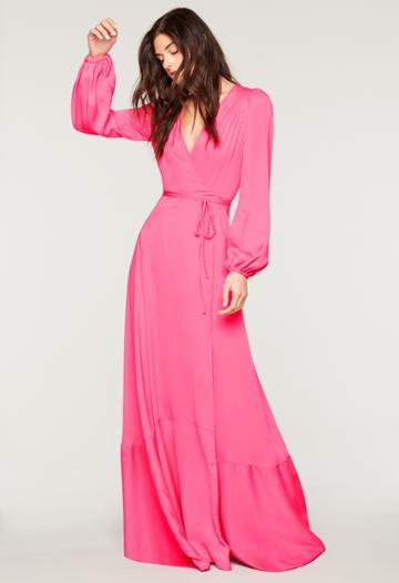 Milly Stretch Silk Gina Gown