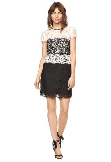 Milly Lace Gabrielle Dress