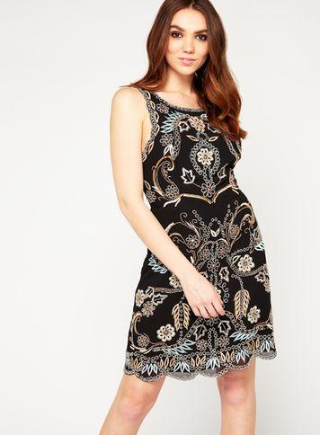 Miss Selfridge Womens Premium Alexa Cutwork Dress