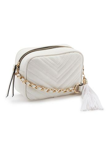 Miss Selfridge Womens Quilted Cross Body Bag