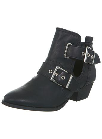 Axis Black Cut Out Boot