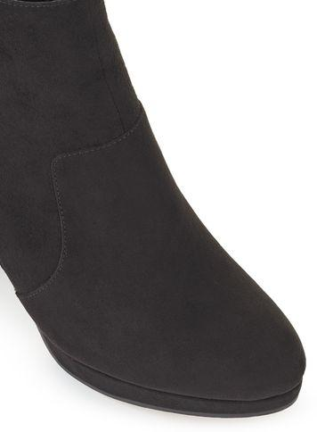 Miss Selfridge Womens Dalia Platform Zip Boots