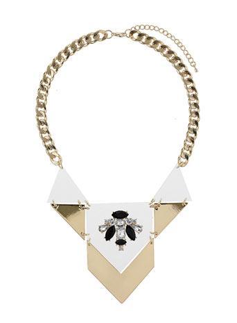 Perspex Geometric Collar