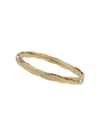 Miss Selfridge Womens Simple Wrap Bangle