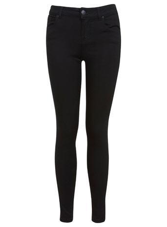 Miss Selfridge Womens Black Ultra Soft Jean