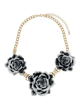 Carved Rose Collar