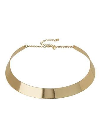 Gold Torque Collar