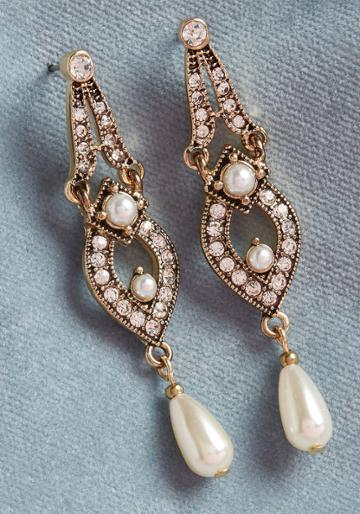 Modcloth Amplify Extravagance Earrings