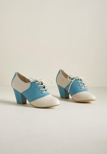 Baitfootwear B.a.i.t. Footwear Evocative Trot Oxford Heel In 10