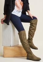 Modcloth Pride In Your Stride Thigh High Boot In 7