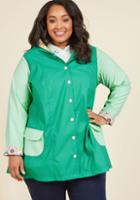 Modcloth Forecast Fascination Raincoat