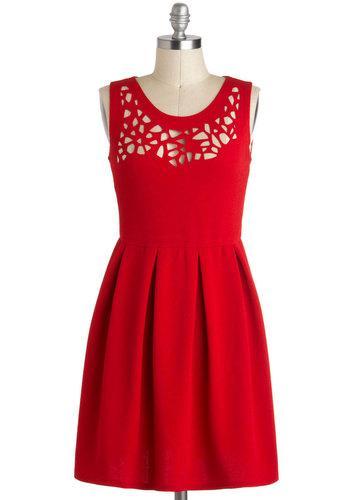 Clipping Garland Dress