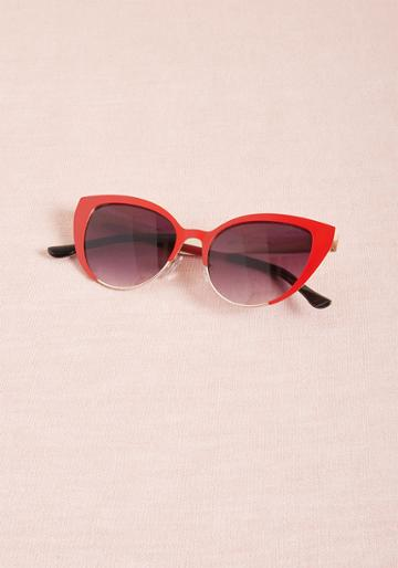 Modcloth For Quite Sun Time Sunglasses