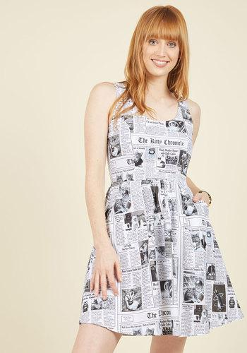 Start Spreading The Mews A-line Dress In S