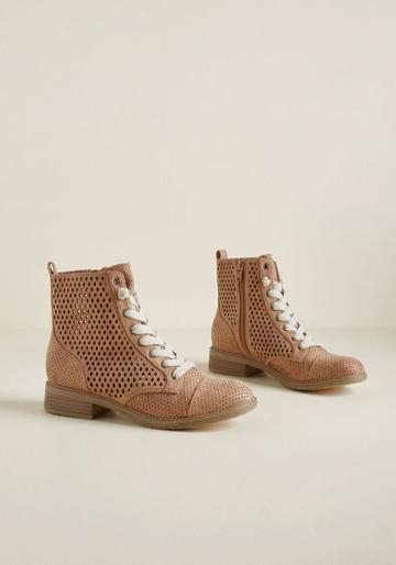 Modcloth Airy Step You Take Cutout Boot In 7