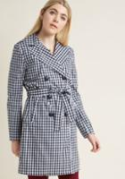 Modcloth Insert Exuberance Here Trench In 4x
