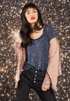 Modcloth Everyday Optimism T-shirt In Constellations