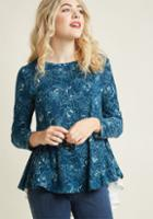 Modcloth Desired Downtime Knit Top In 1x