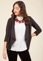 Marketing Maven Blazer In Black In S