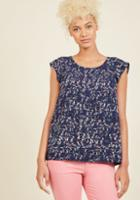 Modcloth Star Of The Seminar Top In Horses In 4x