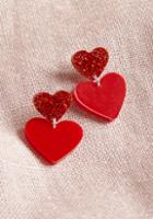 Vinca Vinca Play Heart To Get Earrings