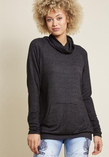 Modcloth Take The Cozy Road Knit Tunic In 1x