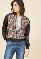 Modcloth A Twist On Tropical Jacket In L
