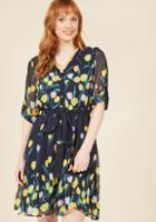 Modcloth Gracious Guest Shirt Dress In L