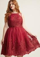 Modcloth Chi Chi London Radiant Reunion Lace Dress In 10