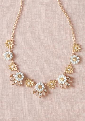 Modcloth Bloom Brilliantly Necklace