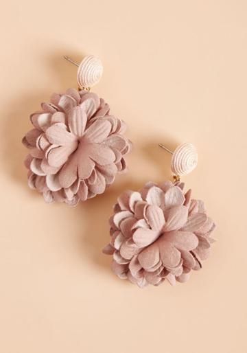 Modcloth Freshly-picked Finesse Earrings