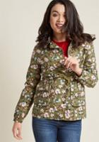 Modcloth Outward Attention Collared Jacket In 1x