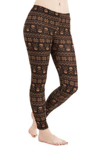Leggsington Skull Days, Skull Days Leggings
